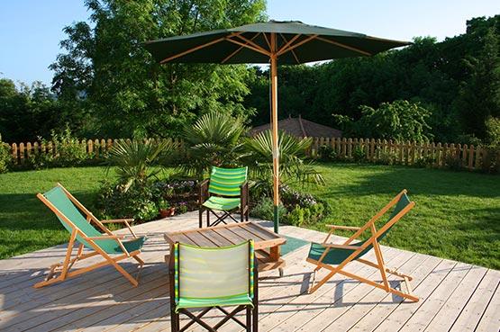 terrasse bois à Bordeaux